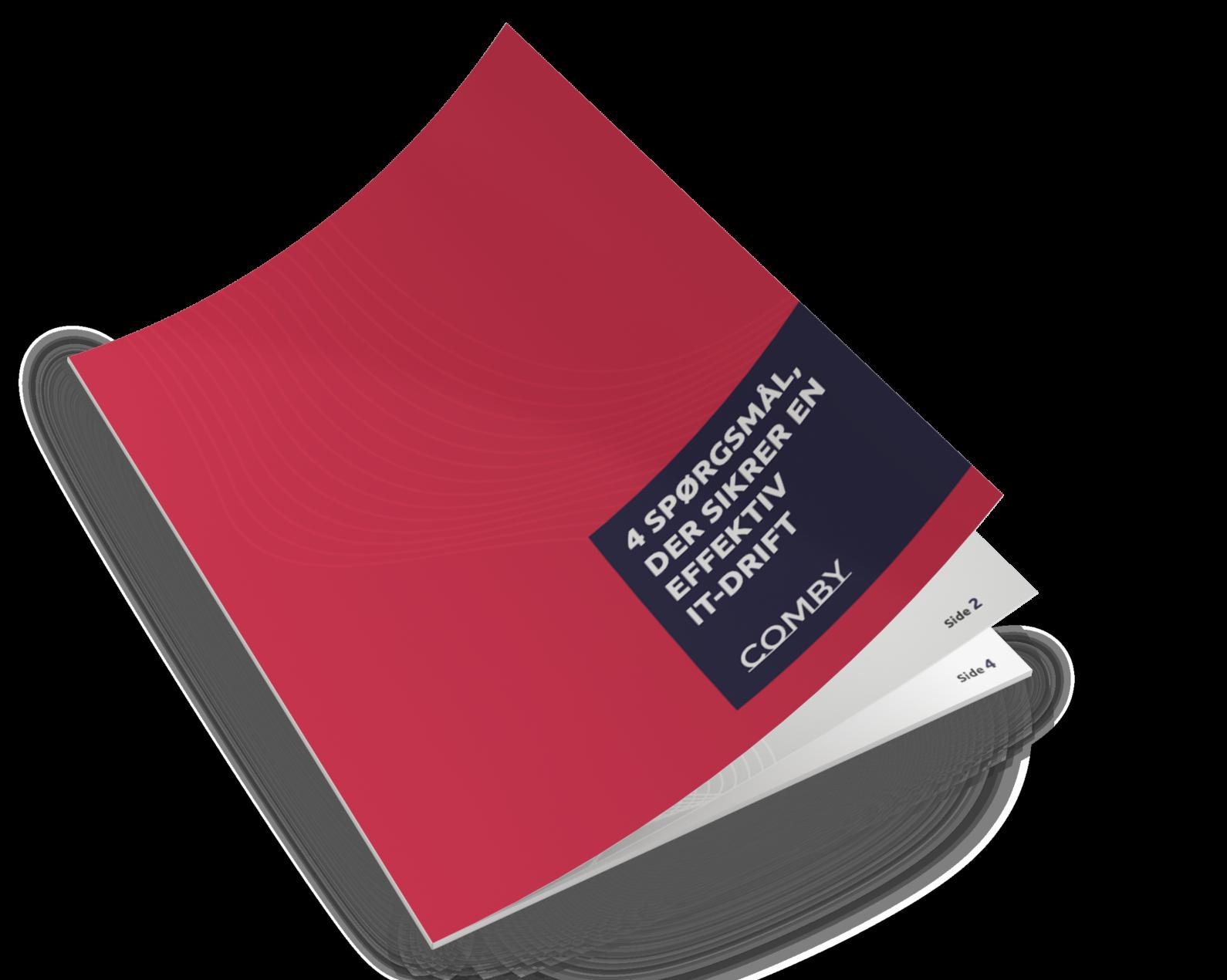 E-bog om outsourcing og IT-drift | Comby