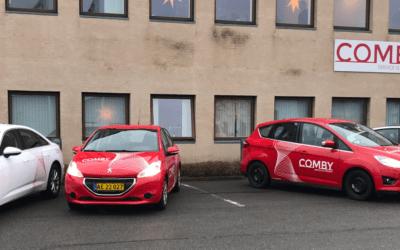 Comby A/S gearer sig til vækst